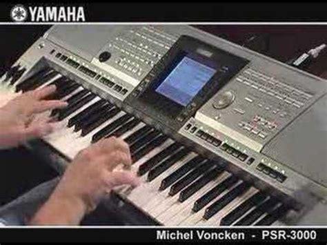 Layar Keyboard Yamaha Psr 3000 michel voncken psr 3000