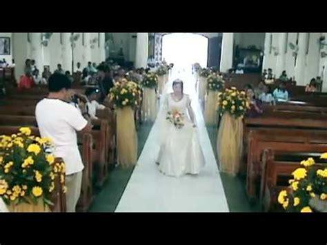 Cebu Wedding: Flashback & Bridal March: Redemptorist