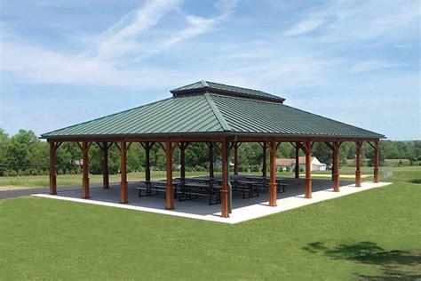 pavilion roof hip roof pavilion