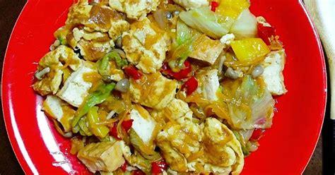 resep tumis tahu sayur enak  sederhana cookpad