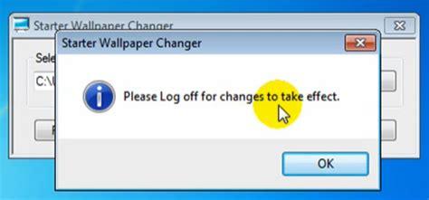 wallpaper changer windows how to change wallpaper in windows 7 starter edition