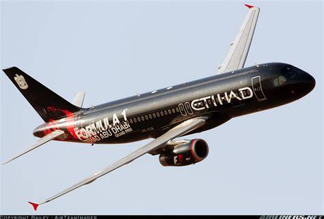 Black Airbus airbus a320 232 etihad airways aviation photo 1327248 airliners net
