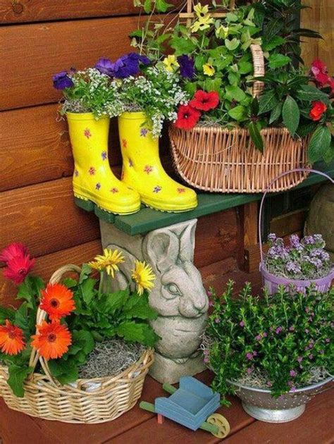 Ideas For Garden Pots And Planters by 17 Beautiful Container Garden Ideas And Plant Pots