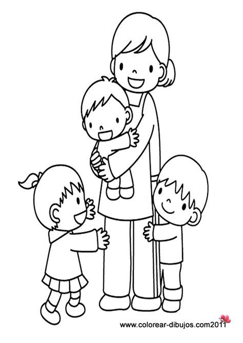 juegos de familia para colorear imprimir y pintar d 237 a de la familia dibujos para pintar colorear im 225 genes