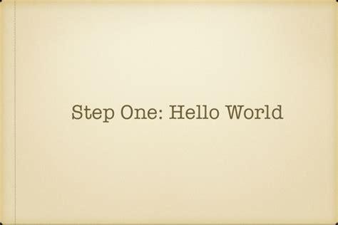 laravel tutorial hello world laravel forge hello world to hello production