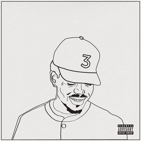 coloring book chance the rapper mixtape chance the rapper coloring book coloring pages
