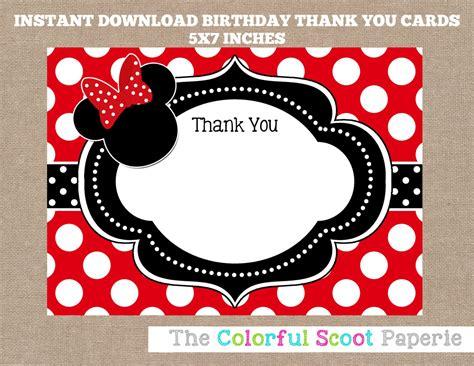 Free Printable Disney Cars Thank You Cards