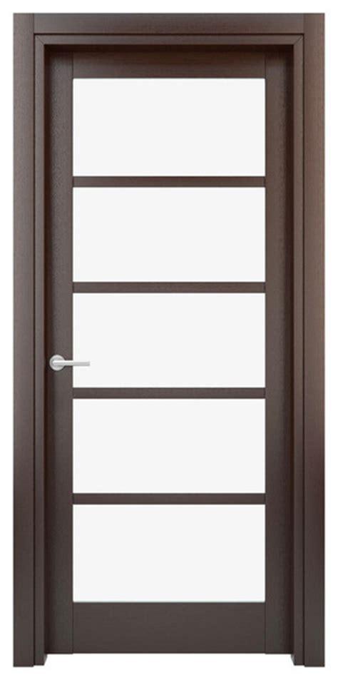 Interior Door Solid Wood Construction Laminated Wenge 29 X 80 Interior Door
