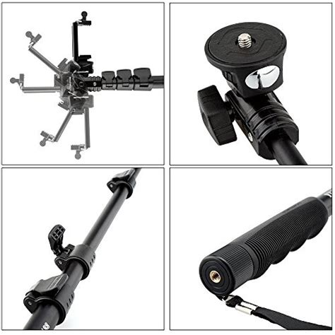 Tongsis Yunteng Monopod Yt 1288 Bluetooth yunteng tongsis wireless bluetooth monopod yt 1288 oem