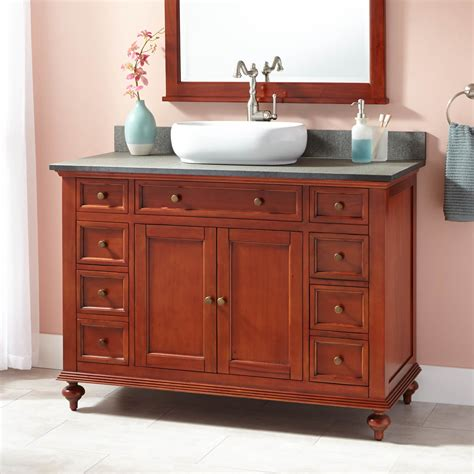 Cherry Bathroom Storage Cabinet Keller Mahogany Linen Storage Cabinet Light Cherry Bathroom