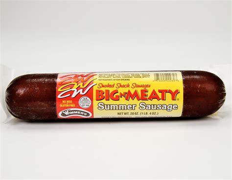 Sausage Shelf by Wimmer S Big N Meaty Summer Sausage