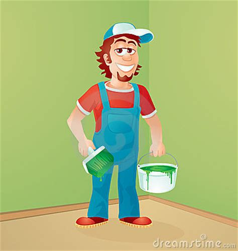 the house painter the house painter royalty free stock photography image 23413387