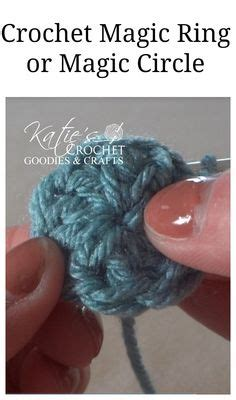 crochet pattern hat magic ring when to use the chain circle or magic loop to start your