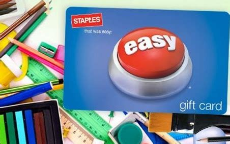 Staples Groupon Gift Card - hot staples 25 for a 40 gift card perfect for back