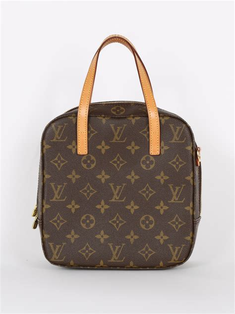 louis vuitton spontini monogram canvas cosmetic bag