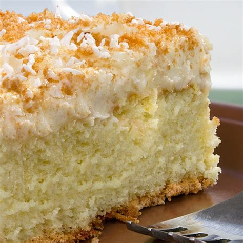 new year cake coconut milk milk cake with coconut topping recipe