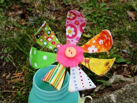 fabric crafts spring bendable fabric flower crafts by amanda