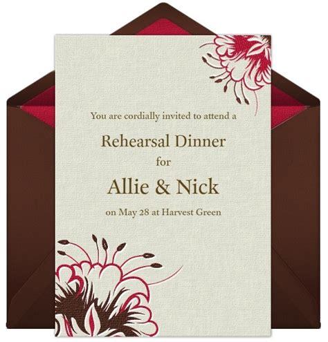 dinner invitations uk rehearsal dinner invitations