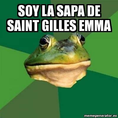 Foul Bachelor Frog Meme Generator - meme foul bachelor frog soy la sapa de saint gilles emma