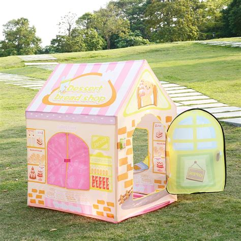 kids backyard store kids portable play tent cake shop toddler playhouse