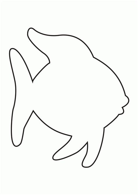 simple coloring pages of fish simple fish coloring page az coloring pages