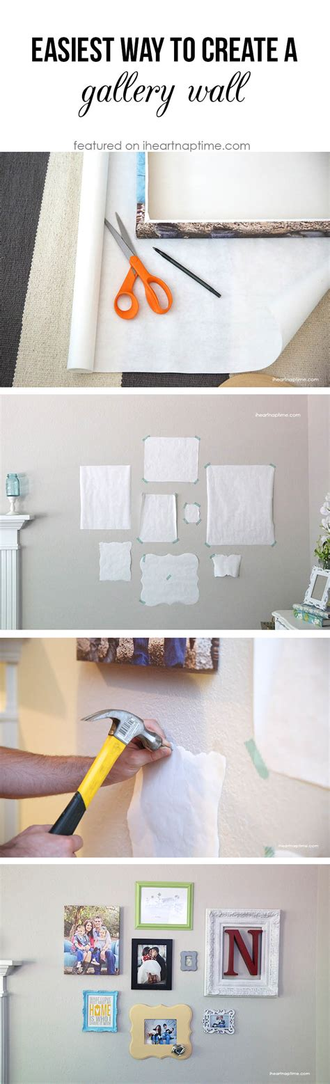 how to arrange pictures on a wall without frames the easiest way to make create a gallery wall use