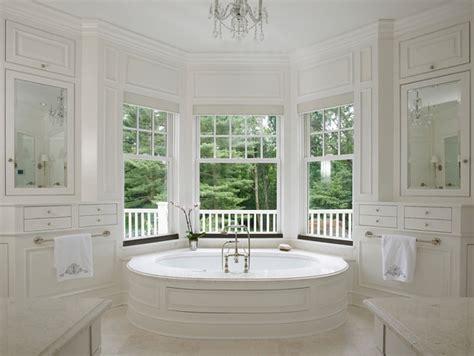 bathroom bay window bay window bathtub transitional bathroom brooks falotico