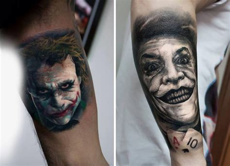 tatuaggi di volti di persone famose e di persone care