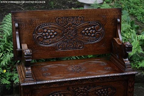 monks benches for sale carved oak monks bench settle hall seat table armchair pew