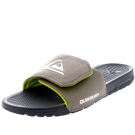 mens velcro sandals uk mens quiksilver shoreline adjust slider velcro open