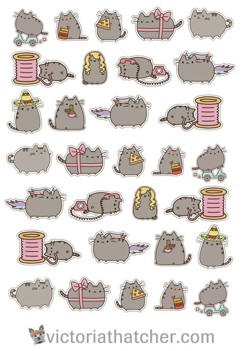 Pusheen Printables