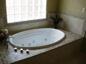 Mosaic Tile Around Bathtub Bathrooms Millwood Remodeling And Design
