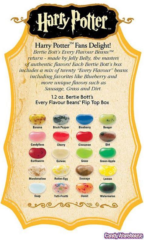 Harry Potter Bertie Botts Beans Bean Boozled Permen Rasa Aneh the world s catalog of ideas