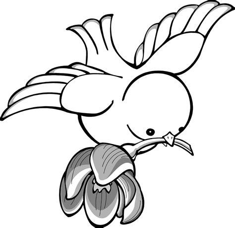 cartoon cockatiel flying bird cartoon black and white