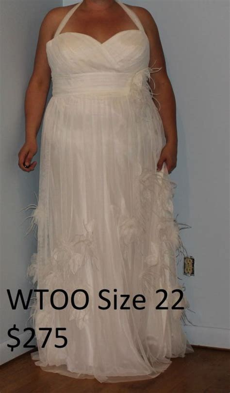 Wedding Dresses Size 20 by Several Plus Size Wedding Dresses For Sale Size 18 20 22