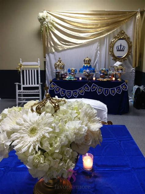 Prince Themed Baby Shower by Welcome Royal Prince Baby Shower Favors More Llc