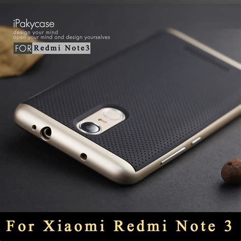 Casing Redmi Note 3 Original Ipaky Brand Luxury Slim Pc Frame aliexpress buy for xiaomi redmi note 3 original ipaky tpu pc frame silicon