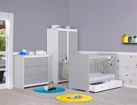 chambre enfant et bebe chambre b 233 b 233 gris perle et blanc meuble chambre b 233 b 233