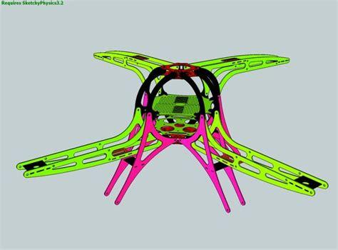 frame design of quadcopter quadcopter frame design fiberglass