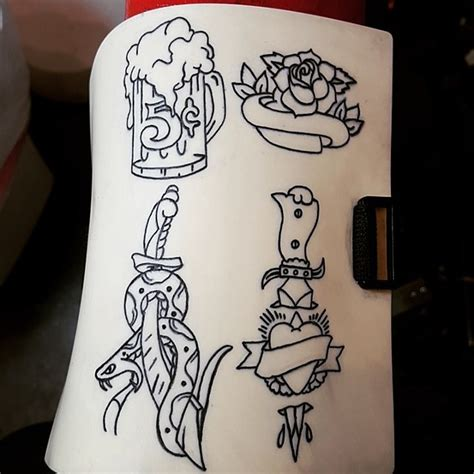 old school tattoo website elizabeth comport artist