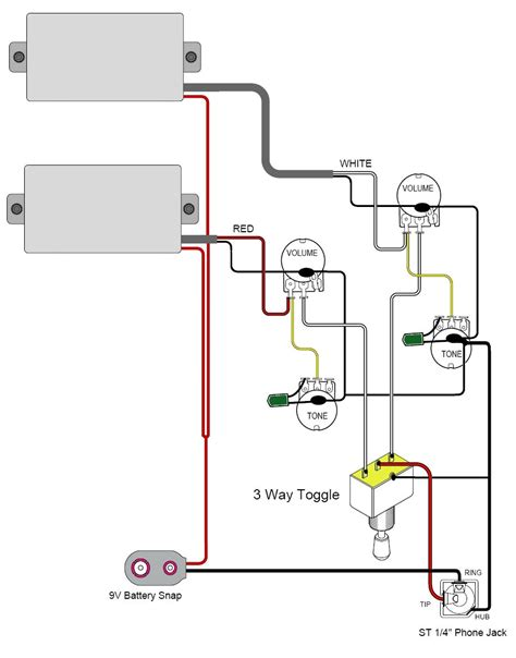 active guitar wiring diagrams wiring diagram with