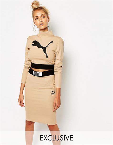 Style Vintage Tees Crop Top Original Design Zara camel sleeve crop top co ord
