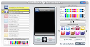 mobile application creator unique mobile apps new personal business cards