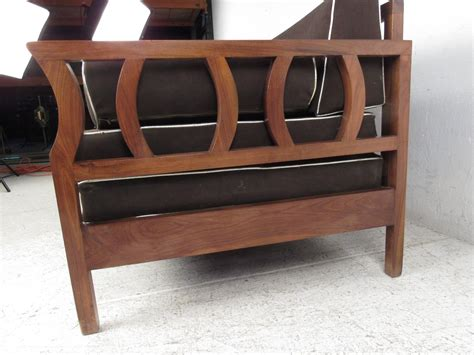 sofa frame for sale vintage walnut frame sofa mid century modern sculptural