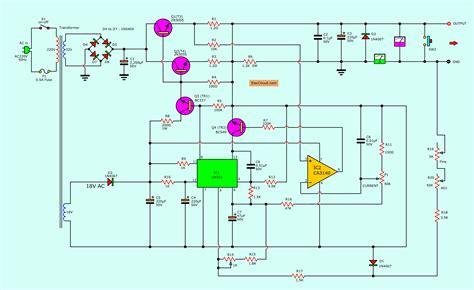 variable benchtop power supply eleccircuitcom