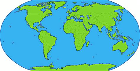 clipart map continent clipart earth map pencil and in color