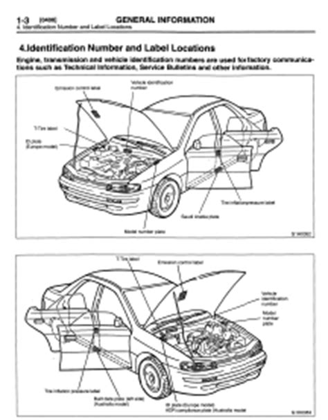 subaru impreza 1996 workshop manual car service manuals