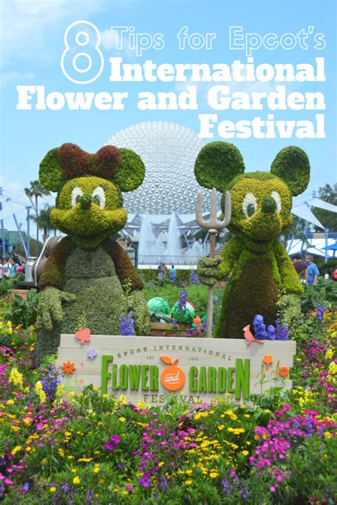 8 Tips For Epcot S International Flower And Garden Epcot International Flower And Garden Festival