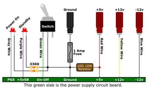 resistor power supply alimentatore da banco con atx electroyou