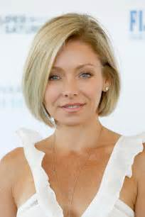 krlly tipa thick hair kelly ripa bob